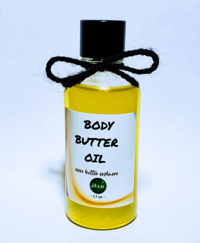 Body Butter Oil • Cocoa Butter Cashmere