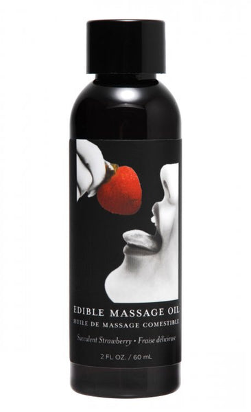 2 ounce Edible Massage Oil (Strawberry ) - TEMPTING TEASERZ