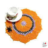 Halloween doily for table decorations