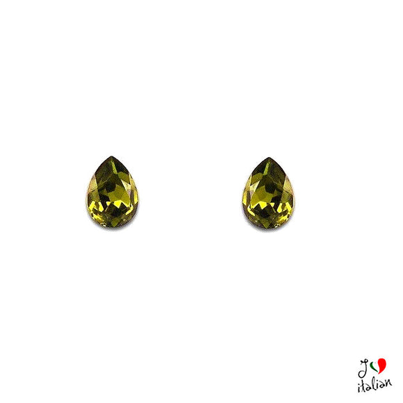Earrings with Crystals - Swarovski®- Jewelry