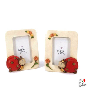 Picture frame with ladybag - Home Decor