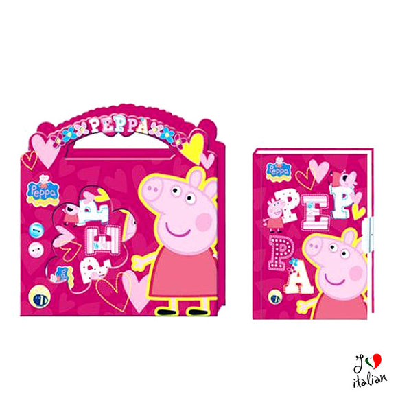 Peppa Pig Secret diary in a box with key