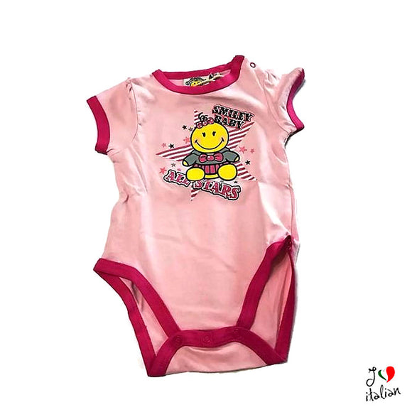 SMILEY WORLD baby short sleeve body - Baby girl