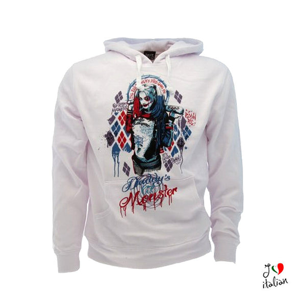 Hoodie Suicide Squad Harley Quinn - Unisex
