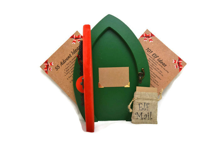 Christmas Elf Door Advent Calendar with Elf