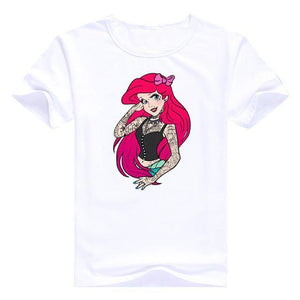 Bad Girls Princesses Disney - Arielle / S - T-Shirts Alice Arielle Bad Girl Blanche Neige Disney