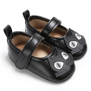 Chaussures Cat Cartoon Baby - Noir / 12-18 Mois - Chat Chaussures Cuir New-Arrivals Premiers Pas