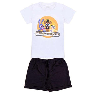 Ensemble Enfant Et Bébé Five Night At Freddy - Ctwh013C / 12 Mois - Ensemble Dessin Animé Five Night At Freddys Freddy Jeux Video