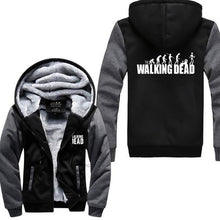 Gilet Doublé Fourrure The Walking Dead - Gris Foncé/noir / M - Veste Daryl Dixon Gilet The Walking Dead Grimes Michonne