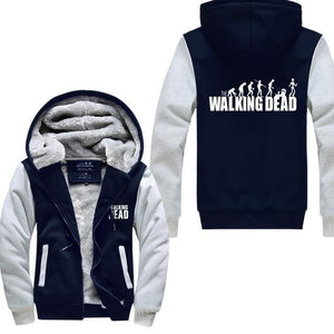 Gilet Doublé Fourrure The Walking Dead - Gris/noir / M - Veste Daryl Dixon Gilet The Walking Dead Grimes Michonne