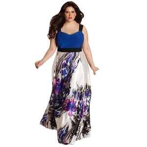 Robe Sans Manches - - Robe Grande Taille