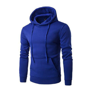 Sweatshirt À Capuche - Bleu / M - Sweat