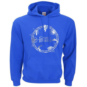Sweatshirt À Capuche Game Of Thrones - - Sweat Arya Daenerys John Snow Sansa