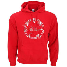 Sweatshirt À Capuche Game Of Thrones - Rouge / S - Sweat Arya Daenerys John Snow Sansa