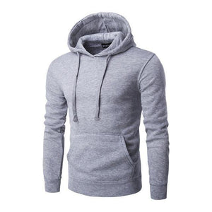 Sweatshirt À Capuche - Gris / M - Sweat