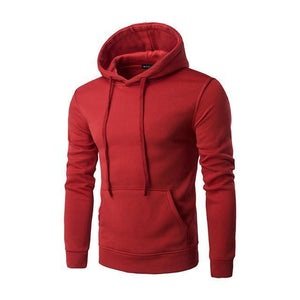 Sweatshirt À Capuche - Rouge / M - Sweat