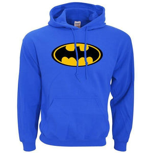 Sweatshirt Batman - Bleu / S - Sweat Batcave Batman Batmobile Batsignal Bruce