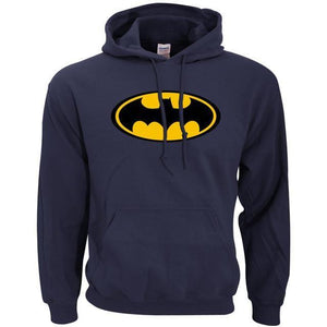 Sweatshirt Batman - Marine / S - Sweat Batcave Batman Batmobile Batsignal Bruce