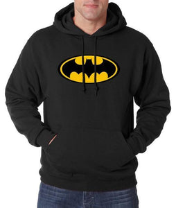 Sweatshirt Batman - Noir / S - Sweat Batcave Batman Batmobile Batsignal Bruce