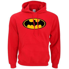 Sweatshirt Batman - Rouge / S - Sweat Batcave Batman Batmobile Batsignal Bruce