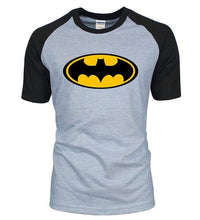 T-Shirt Batman - Gris / S - T-Shirts Batcave Batman Batmobile Dc Comics Super Héros