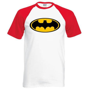 T-Shirt Batman - Rouge / S - T-Shirts Batcave Batman Batmobile Dc Comics Super Héros