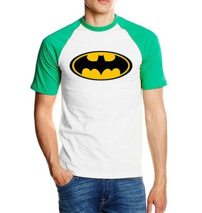 T-Shirt Batman - Vert / S - T-Shirts Batcave Batman Batmobile Dc Comics Super Héros
