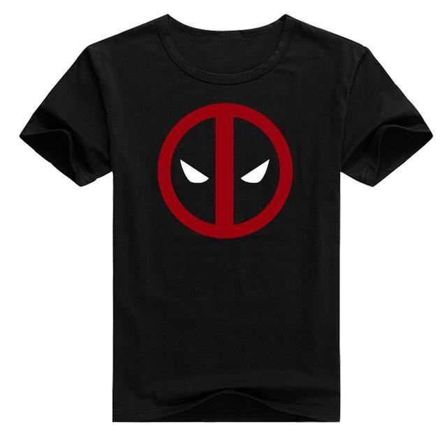 T-Shirt Deadpool - S - T-Shirts Comics Femme Logo Super Héros