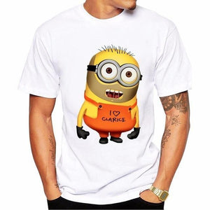 T-Shirt Hannibal Minion - S - T-Shirt Hommes Hannibal Lecter Minion