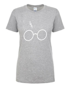 T-Shirt Pour Femme Harry Potter - Gris 2 / S - T-Shirts Dumbledore Harry Potter Hermione Poudlard