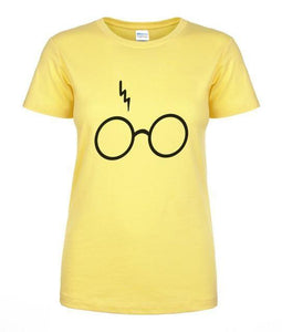 T-Shirt Pour Femme Harry Potter - Jaune / S - T-Shirts Dumbledore Harry Potter Hermione Poudlard
