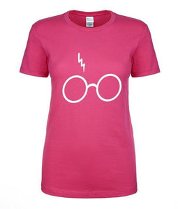 T-Shirt Pour Femme Harry Potter - Rose 2 / S - T-Shirts Dumbledore Harry Potter Hermione Poudlard