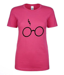 T-Shirt Pour Femme Harry Potter - Rose / S - T-Shirts Dumbledore Harry Potter Hermione Poudlard