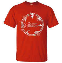 T-Shirt Pour Homme Game Of Thrones - Rouge / S - T-Shirts Cersei Daenerys John Snow Lannister