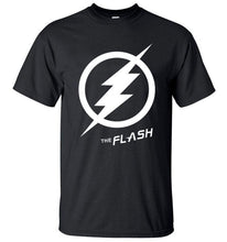 T-Shirt Pour Homme The Flash - - T-Shirts Arrow Barry Allen Comics Dc Flash