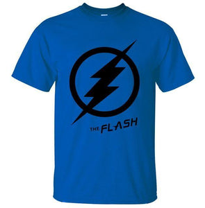 T-Shirt Pour Homme The Flash - Bleu 2 / S - T-Shirts Arrow Barry Allen Comics Dc Flash