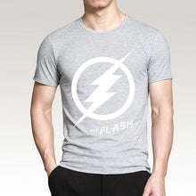 T-Shirt Pour Homme The Flash - Gris 2 / S - T-Shirts Arrow Barry Allen Comics Dc Flash