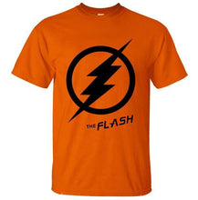 T-Shirt Pour Homme The Flash - Orange / S - T-Shirts Arrow Barry Allen Comics Dc Flash