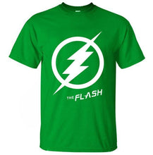 T-Shirt Pour Homme The Flash - Vert / S - T-Shirts Arrow Barry Allen Comics Dc Flash