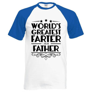 T-Shirt Pour Homme Worlds Greatest Farter I Mean Father - - T-Shirts Drôle Farter Father Fun World