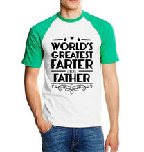 T-Shirt Pour Homme Worlds Greatest Farter I Mean Father - Vert / S - T-Shirts Drôle Farter Father Fun World