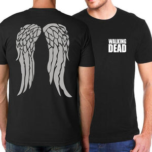 T-Shirt The Walking Dead - S - T-Shirts Daryl Michonne Rick Walking Dead Zombies