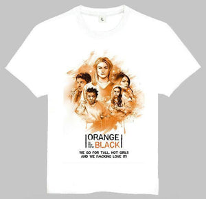 Tee-Shirt Orange Is The New Black - S - T-Shirt Orange Is New Black