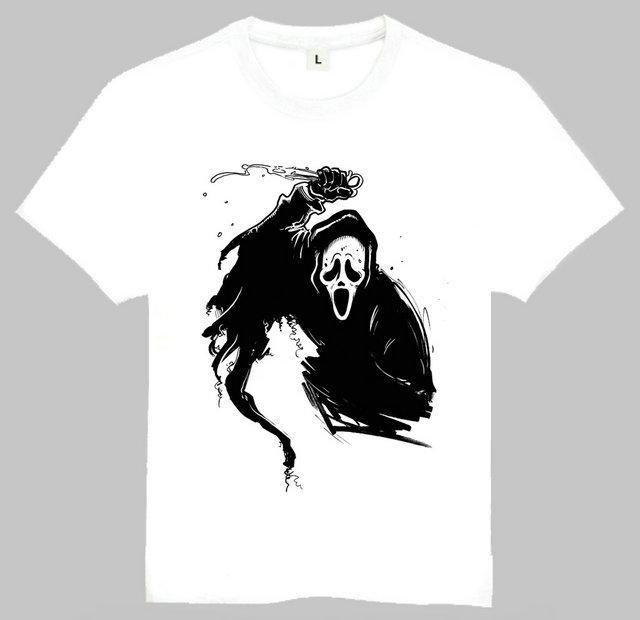 Tee-Shirt Scream - S - T-Shirt T-Shirt Scream