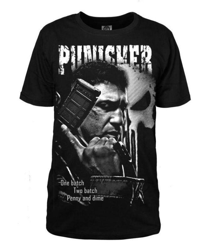 The Punisher - M 168Cm 55Kg - T-Shirt Homme Punisher