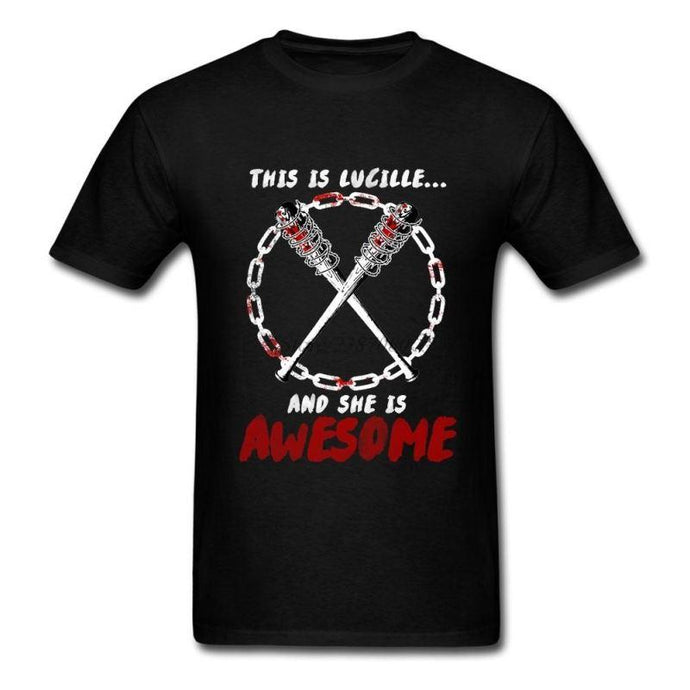 This Is Lucille And She Awesome - - T-Shirt Homme Lucille Negan T-Shirt Negan Pour Hommes Twd