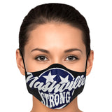 Nashville Strong (Official) - Face Mask (black) with 2/Filters