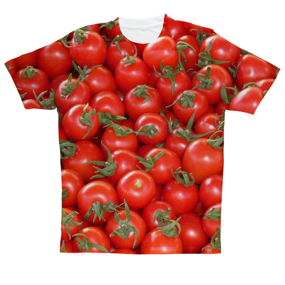 AAC Client: East Nashville: Tomato Sublimation Tee
