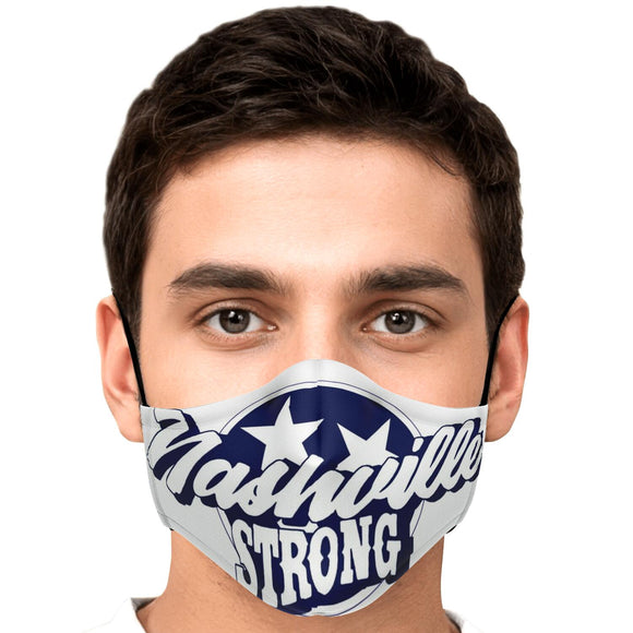 Nashville Strong (Official) - Face Mask with 2/Filters
