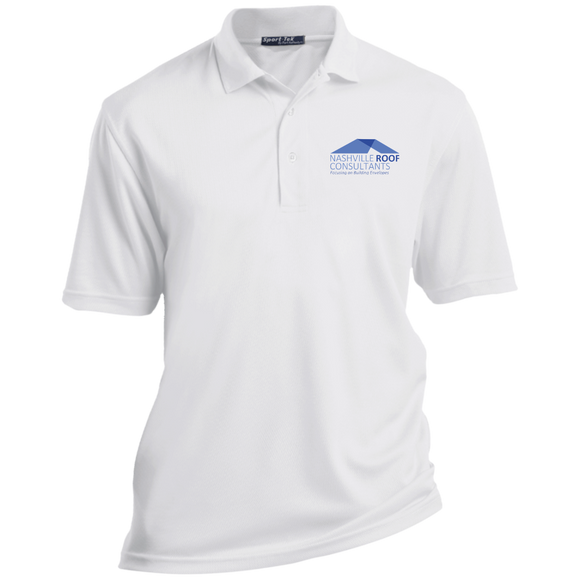 AAC Client: Nashville Roof Consultants: Sport-Tek Tall Dri-Mesh Short Sleeve Polo